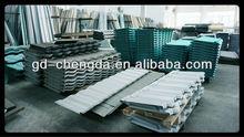 metal deck zinc aluminium corrugated coated steel roofing sheet