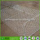 electro hexagonal weave decorative protection gabion netting cage