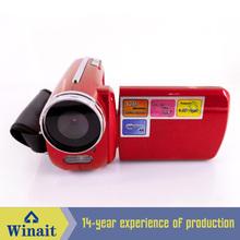 cheap gift digital video camera max 12 MP camcorder 4 x digital zoom 1.8'' TFT display
