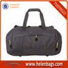 2014 gray polyester handbag wholesale travel bag oem