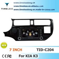 S100 Car DVD Sat Navi for KIA RIO 2012 year with A8 chipest, bluetooth, sd, ipod, 3g, wifi