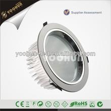 Super bright white aluminum shell 32w lampu downlight harga