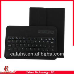 Wireless Bluetooth Detachable Keyboard Leather Case With Holder For iPad Mini IA078