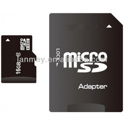 Factory OEM full storage memory card TF card 1GB-32GB bulk micro SD Card with adapter