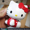 Newest carton 3D 11000mah moblie power bank hello kitty