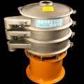 redonda de acero inoxidable vibro tamiz de equipos para la industria química en polvo