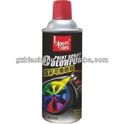 450ml Epoxy colorful spray paint - peelable, flexible, insulate, durable