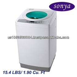Sonya 15.4lbs Compact Portable Automatic Washer Washing Machine 110v / ETL certification