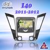 central multimedia navigation for Hyundai i40 2011-2012