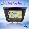 Central multimedia navigation for Hyundai veloster 2011