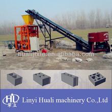 QHL4-25 coal dust brick making machine