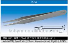 Super High Precision Stainless Steel Tweezers ,SA Series (2-SA)