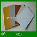 12mm branco laminado melamínico mdf/impermeável