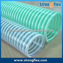Flexible transparent rigid pvc reinforced pvc hose
