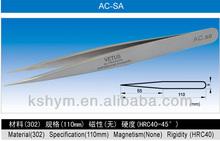 Super High Precision Stainless Steel Tweezers ,SA Series (AC-SA)