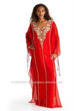 indonesia kaftan wholesale / DUBAI VERY FANCY KAFTANS abaya jalabiya Ladies Maxi Dress Wedding gown earring
