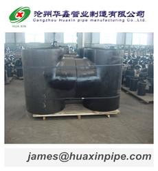 "Black Carbon Steel Tee API standard company 1/2""-48"""