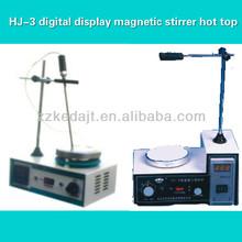HJ-3 digital display magnetic stirrer hot top