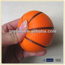 Visiable mini basketball stress ball