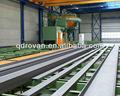 Qh69 serie alta calidad H beam placa de acero granallado y la pintura de la máquina