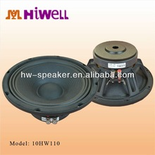 Guangzhou hiwell factory speaker ,10inch passive stage woofer