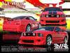VFiber 2005 2006 2007 2008 2009 Ford Mustang V6 GT GT500 Blitz Body Kit Bumpers Lip Spoiler GTR Fenders