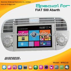 Fiat 500 multimedia 2010-2013 radio tv bluetooth steering wheel control ipod blue&me bt car usb platform