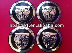 jaguar car wheel caps,ABS wheel hub labels,chromed car wheel covers