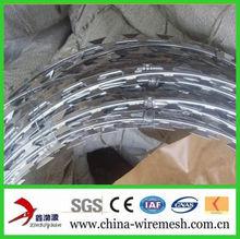 Hot-dipped Galvanized Steel Razor Fence