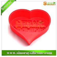 Heart Shaped Silicone Birthday Cake Model