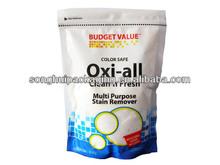 stand up washing powder packing bag / detergent powder bag