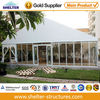 Modern glass entrance canopies with full glass wall