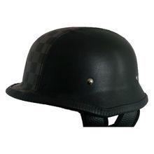 2014 wholesale german DOT helmet (leather face)