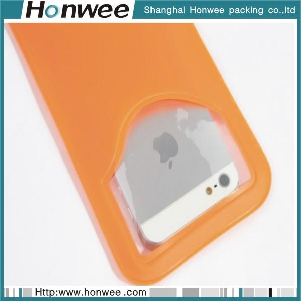 2014 new design custom mini pink printed pvc mobile phone bag