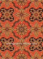 modern design floral printed carpet for hotel corridor