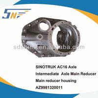 SINOTRUK AC16 Axle Intermediate Main reducer housing,Main reducer housing,AZ9981320011