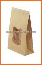 Take away food paper bag for restaurant