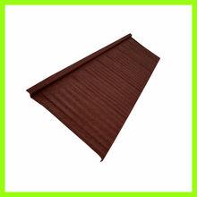 metal composite aluminum steel curved corrugated roof shingle