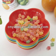 Plastic candy plate houseware