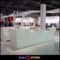 Forever classic arctic white design Acrylic Solid Surface different type of table service