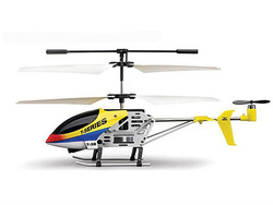 "7"" MJX T638 Mini Thunderbird RC Helicopter TB38 Yellow"