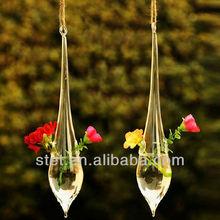 hand bown long-stem antique murano glass vases