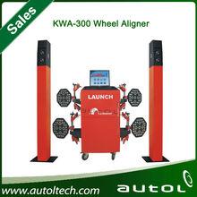 2014 new arrival Workshop Equipment Original LAUNCH KWA300 3D wheel aligner equipment for auto garage