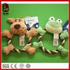 Plush Pet Toys with Rope Plush Rope Pet Toys
