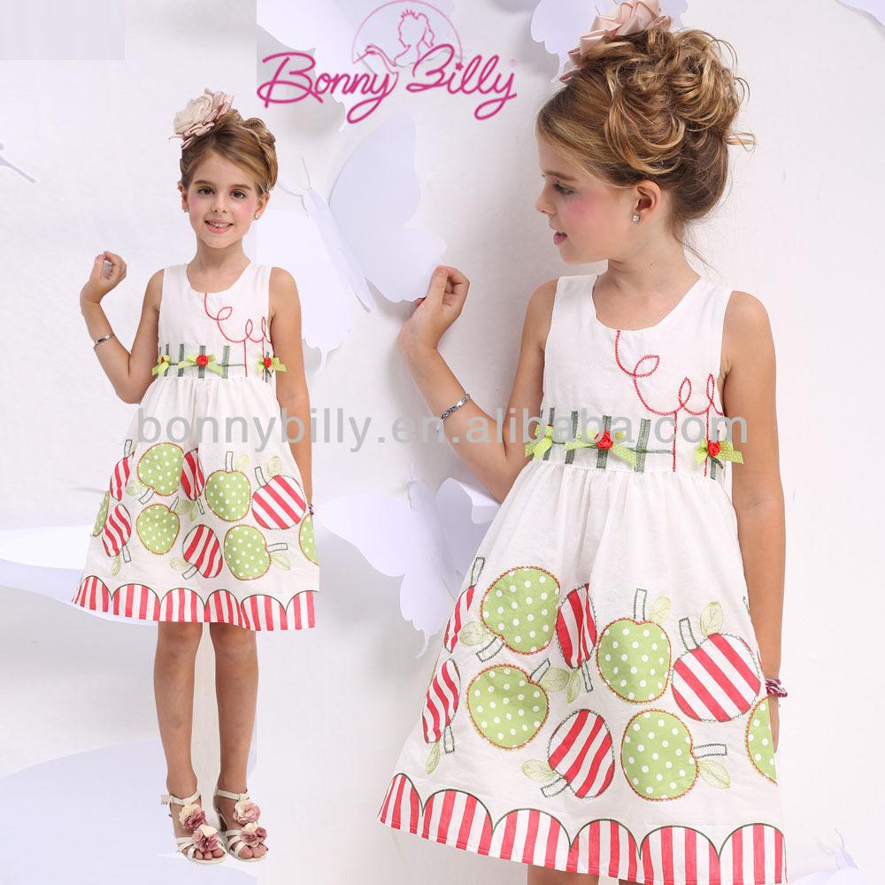 cotton summer dresses clothing manufacturer view summer girl dress