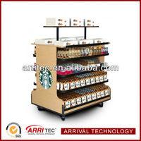 POP Retail Wood Merchandiser Rack Display