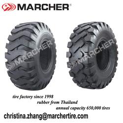 Marcher tire manufacturer 16/70-20,16/70-24,20.5-25,15.5-25,23.5-25,26.5-25,29.5-25,29.5-29,17.5-25 wheel Loader Tyre