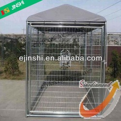 4'x8'x6' Hot Dipped Galvanized Steel Outdoor Dog Run Kennel