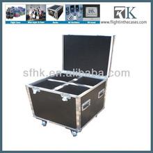 Custom Made New arrival led moving head light drum flight case for speaker