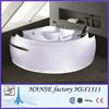 1350mm high quality acrylic bathtub/52 inch bathtub/whirlpool bathtub HS-B1313X